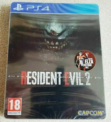 Resident Evil 2 Limited Edition Steelbook 2019 PAL UK PS4 NEW & FACTORY SEALED!