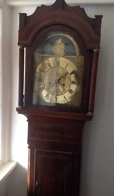 Antique Longcase Grandfather Clock by Samuel Collings, of Downend, Bristol 1770
