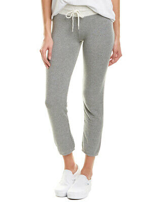 Monrow Supersoft Two-Tone Sweatpant Women's Grey L
