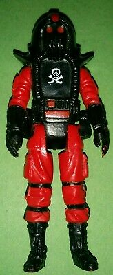 VINTAGE PALITOY ACTION FORCE ROBOSKULL CHIN GUN WITH TIP RED SHADOWS