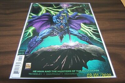 HE-MAN /& THE MASTERS OF THE MULTIVERSE 1 DAN FRAGA VARIANT NM