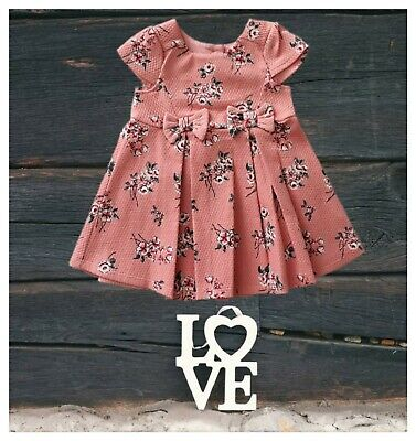 Ex Mother//Care Girls Dress Kids Baby Party Wedding Bridesmaid Formal RRP £22