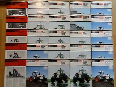 Group 25 nice vintage Case tractor brochures Very Good uncirculated *