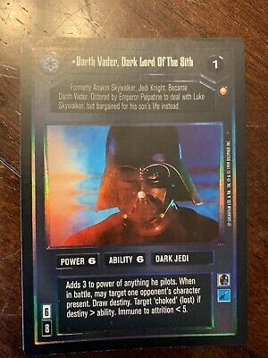 Star Wars CCG Darth Vader, Dark Lord Of The Sith Foil Reflections II