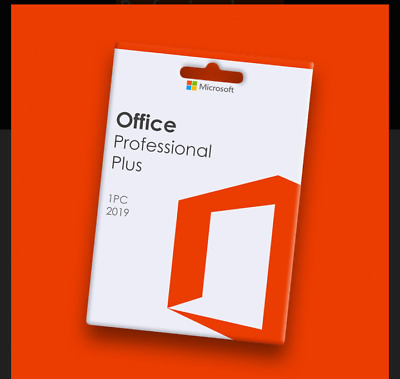 Office Pro plus 2019 key genuine lifetime Activation Online 🔥Instant delivery🔥