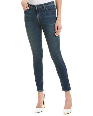 Alice + Olivia Good Mid-Rise Skinny Leg Women's Blue 26