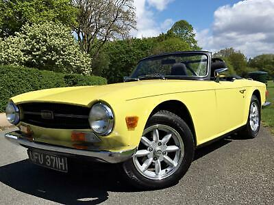 1970 Triumph TR6 2.5 Pi Overdrive UK CAR - FAST ROAD SPEC
