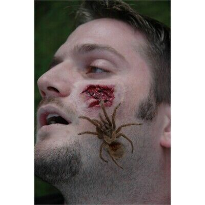 Spider Attack Prosthetic Wounds - Makeup