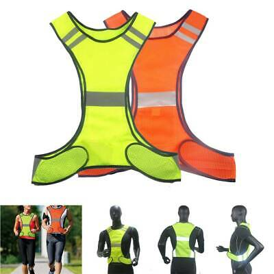 Reflective Safety Vest High Visibility Security Jacket for Night Running Work