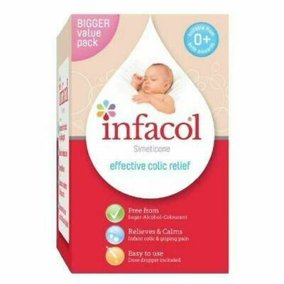 Infacol Baby Anti Colic Relief & Wind Drops, 85ml - 2 Pack FREE POSTAGE