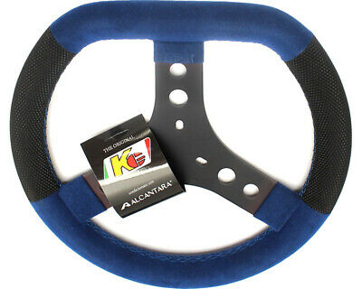 KG Flat Top Cadet Steering Wheel Blue Go Kart Karting Race Racing