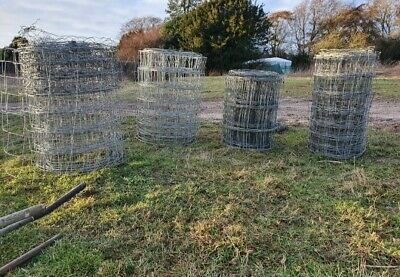 50M 0.8M Stock Fencing Sheep Pig Cattle Livestock Fence Galvanised Wire 80//8//30