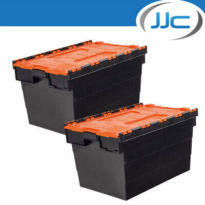 JJC Race and Rally 2 x Stackable Storage Boxes for Workshop/Garage