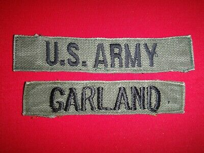 b0786v Vietnam US ARMY Tape issue made woven yellow IR39A