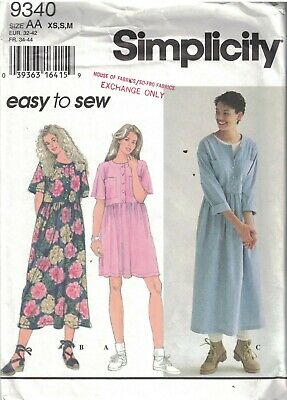 7294 UNCUT Simplicity SEWING Pattern Misses One Yard Set of Shorts Casual OOP FF