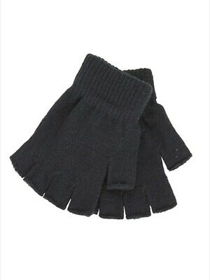 NEW AUSTRALIAN APPAREL Kids School Fingerless Gloves by Best&Less