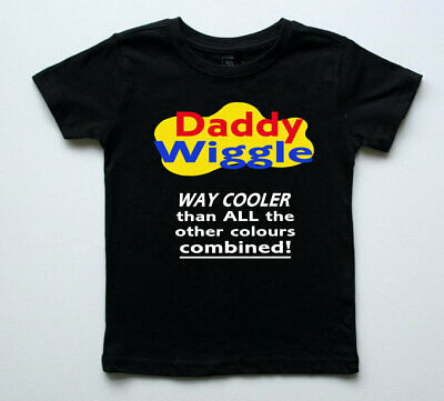 Adult Wiggles Shirt Party Daddy Mummy Wiggle Personalised Costume Dress-Up Emma