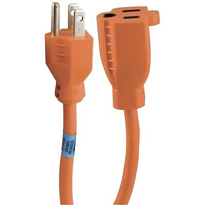 GE 51924 1-Outlet Indoor-Outdoor Extension Cords (25ft) - Free ship
