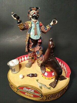 "Coca-Cola Century Collection ""Emmett Kelly The Clown"" IOB"