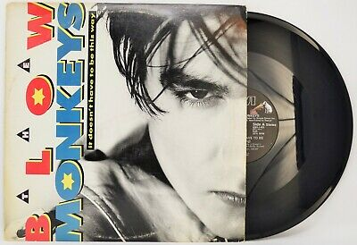 """The Blow Monkeys It Doesn't Have To Be This Way 12"""" SINGLE - vinyl record LP EX"""