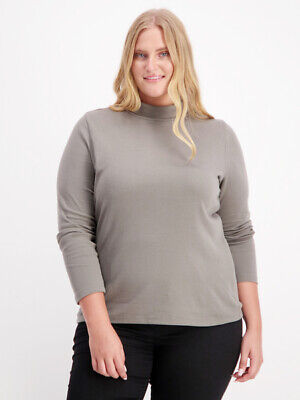 NEW FAVOURITES Womens Plus Cotton Skivvy by Best&Less