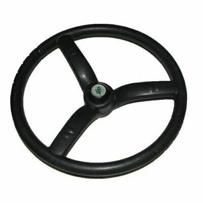 New Steering Wheel 3 Spoke Black Rubber Made For Massey Ferguson Tractors CAD