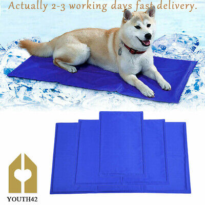 Gel Cooling Mat for Dog Cat Pet Self Cooling Pillow Summer Hot Weather Bed Pad