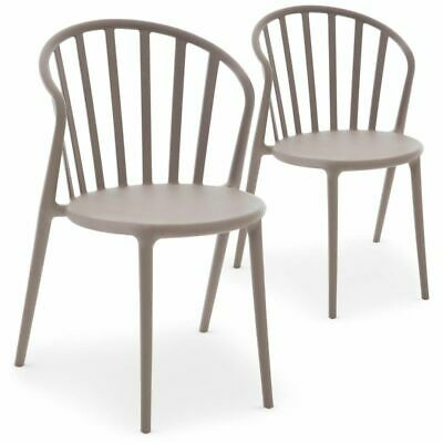 LOT DE 4 chaise empilables Slick slick by Philippe Starck