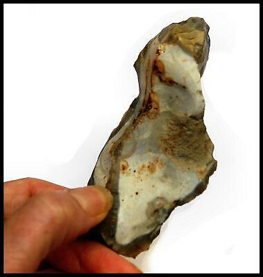 Mesolithic tranchet hand axe prehistoric tools British stone age archaeology