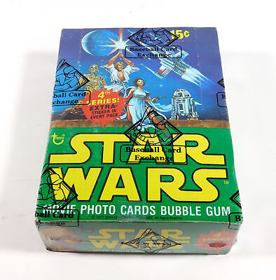 1977 1978 Topps Star Wars Series 4 Box (36 Packs) BBCE Wrapped