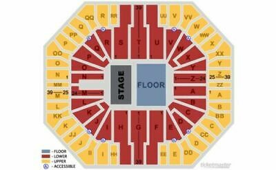 Floor Tickets For Rage Against The Machine At Don Haskins Center In El Paso