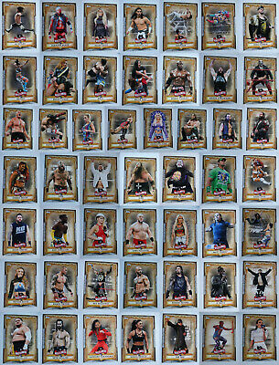 2020 Topps Road To Wrestlemania WWE Roster Cards Complete Your Set You U Pick