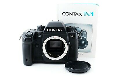[Exc+5] Contax N1 35mm SLR Film Camera Body Black Tested from Japan 557108