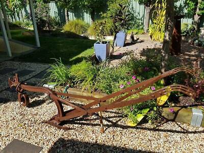 Vintage horse drawn plough - great condition