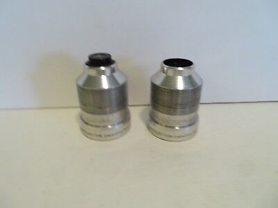 """Bell & Howell 16MM Projection Lens 2"""" Inch f/1.6 LOT OF 2"""