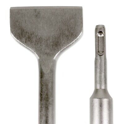 SDS Plus Chisel Cranked Tile Removing Extra Wide 75x 280mm Floor /& Wall Tiles