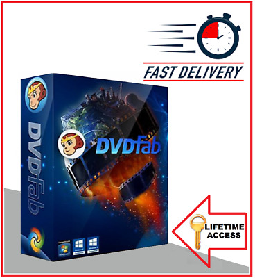 DVDFab 11 🔥 LIFETIME LICENCE 🔥 OFFICIAL VERSION BLUE RAY DVD RIPPER CONVERTER