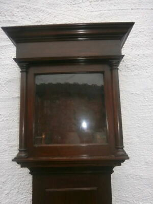 EARLY 11 inch mahogany  LONGCASE CLOCK  case for a  11 inch dial C1750