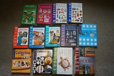 Job Lot 13 MILLERS Collectables Price Guides Collecting The 1950's 1960's 1970's