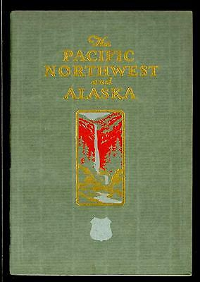 Book-1928 The Pacific Northwest & Alaska W/Union Pacific Rr Maps
