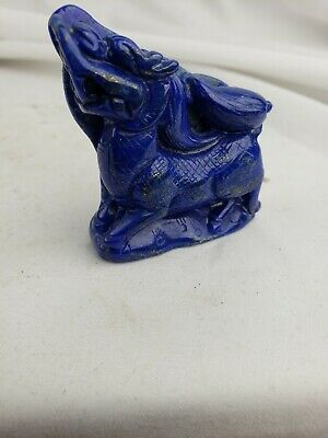 Excellent  old chinese Lapis Lazuli carving