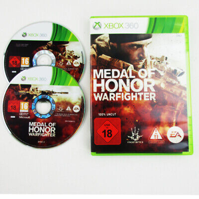 Xbox 360 Spiel Medal of Honor Warfighter Usk 18 in OVP