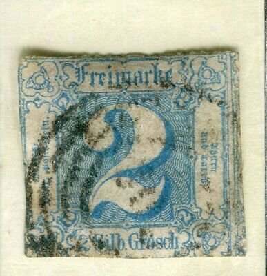 GERMANY THURN TAXIS; (North) 1860s early classic issue used 2sg. value