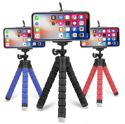 Cell Phone Tripod Portable and Adjustable Camera Stand Holder