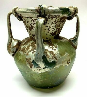 Ancient Roman Glass Vessel.