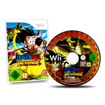 Nintendo Wii Spiel Dragonball Revenge of King Piccolohne OVP ohne Anleitung AA