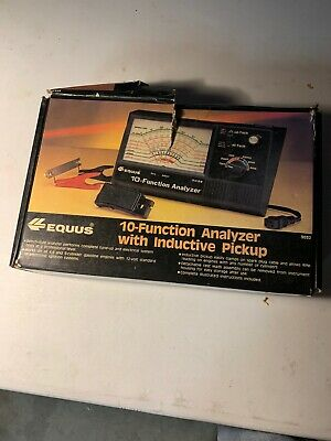 10 Function Analyzer 3032 with Induction Pickup