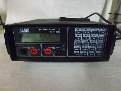 AEMC 3930 TRMS Power Analyzer W/ AC Current Probe
