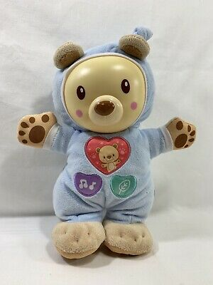 VTech Baby Sleepy Glow Bear singing talking soothing night light
