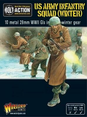 Warlord Bolt Action US Army 28mm US Army Infantry Squad (Winter) Box SW